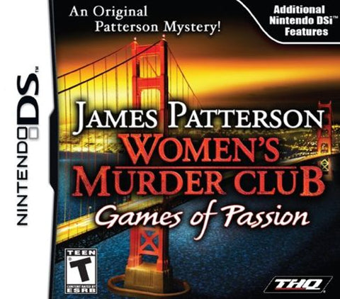 James Patterson's Women's Murder Club: Games of Passion - DS