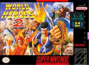 World Heroes 2 - SNES