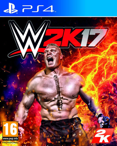 WWE 2k17 - Pre-Owned Playstation 4