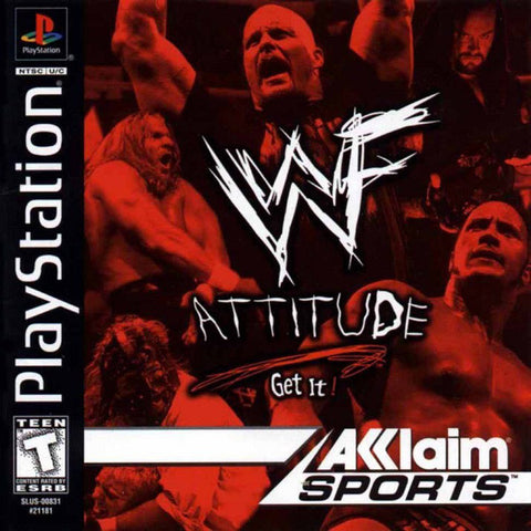 WWF Attitude - Playstation