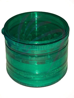 Dragons Head Shop Accessories Green Acrylic Herb Grinder | Dragons Head Shop