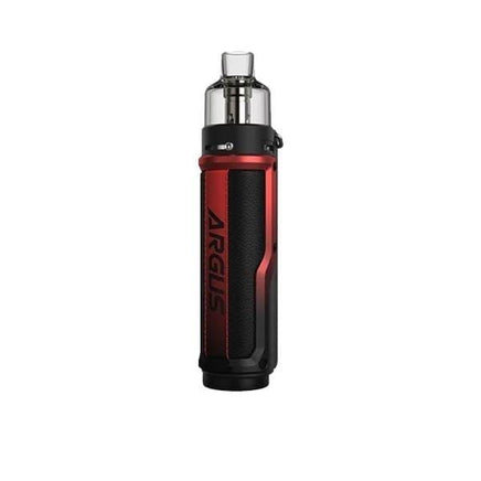 Prodotti Voopoo Vaping Litchi Leather & Red Voopoo Argus X Kit
