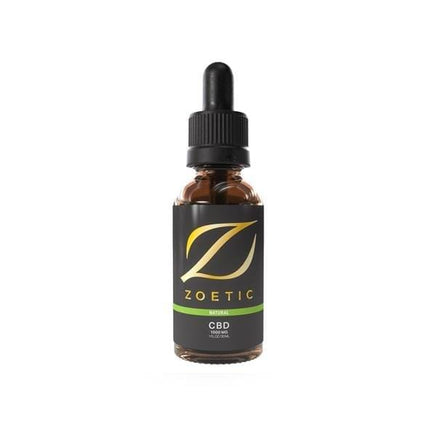 Zoetic CBD Products Zoetic 1000mg CBD Oil 30ml - Calming Natural