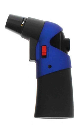 Prof Lighter Prof lighter blue jet flame utility lighter rubber metallic  - Blue