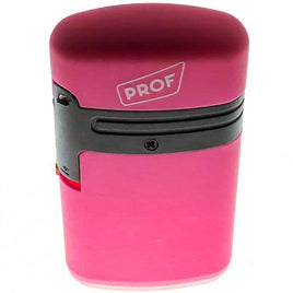 Prof Smoking Products Pink Prof Lighter Double Blue Flame Colores fluorescentes