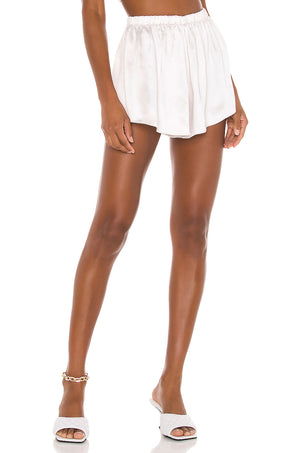 Flirty Satin Shorts