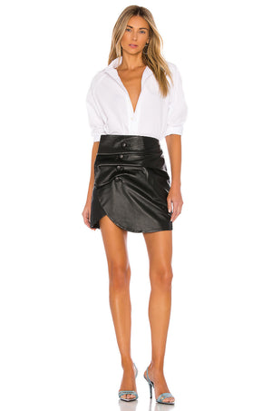 Vreeland Leather Mini Skirt