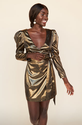 Laria Wrap Dress