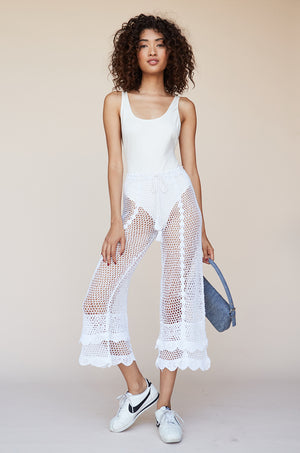 Crochet High Waist Culotte
