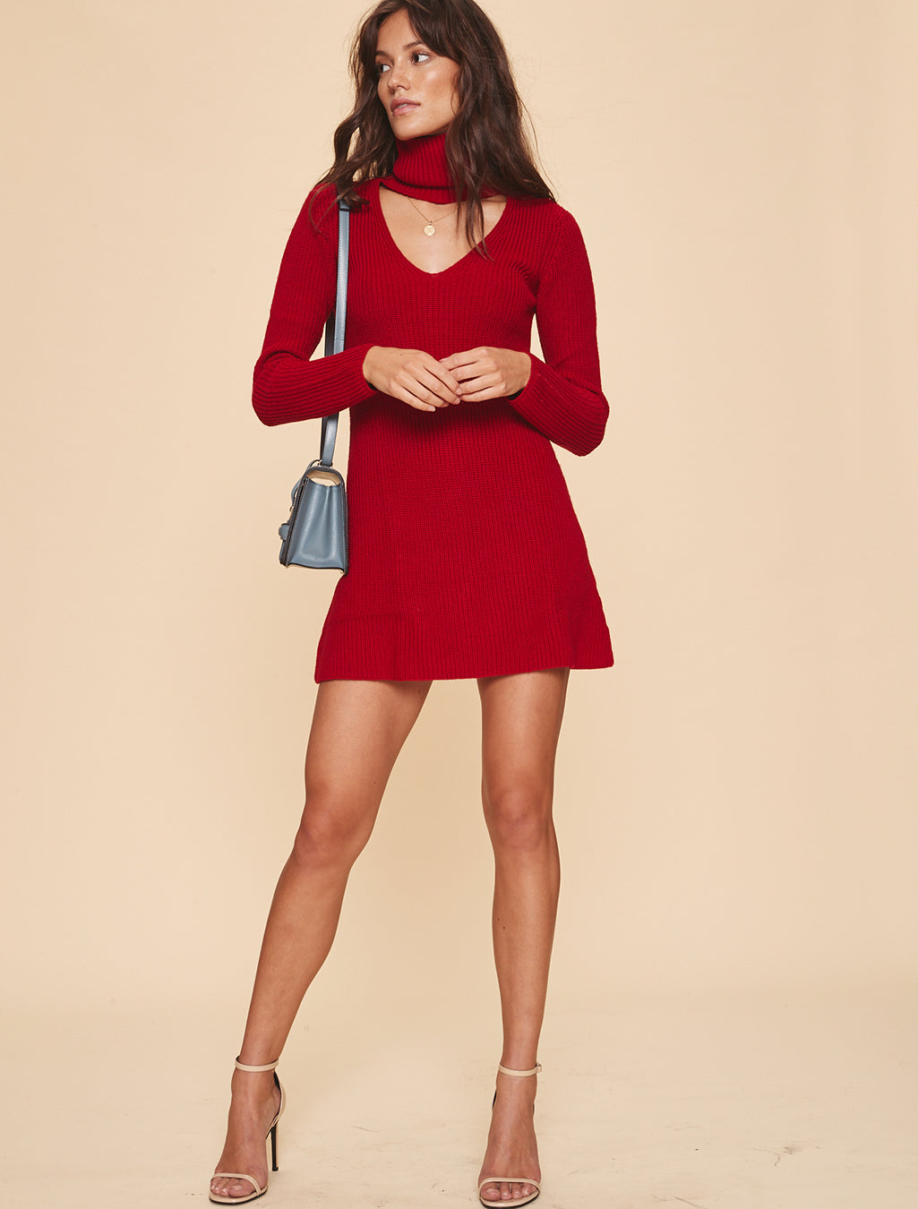 Dress 589 in Red. - size S (also in L,M) LPA