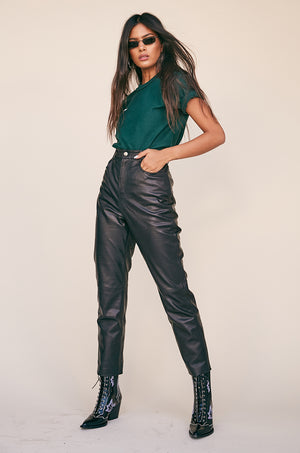 Leather Pant 417