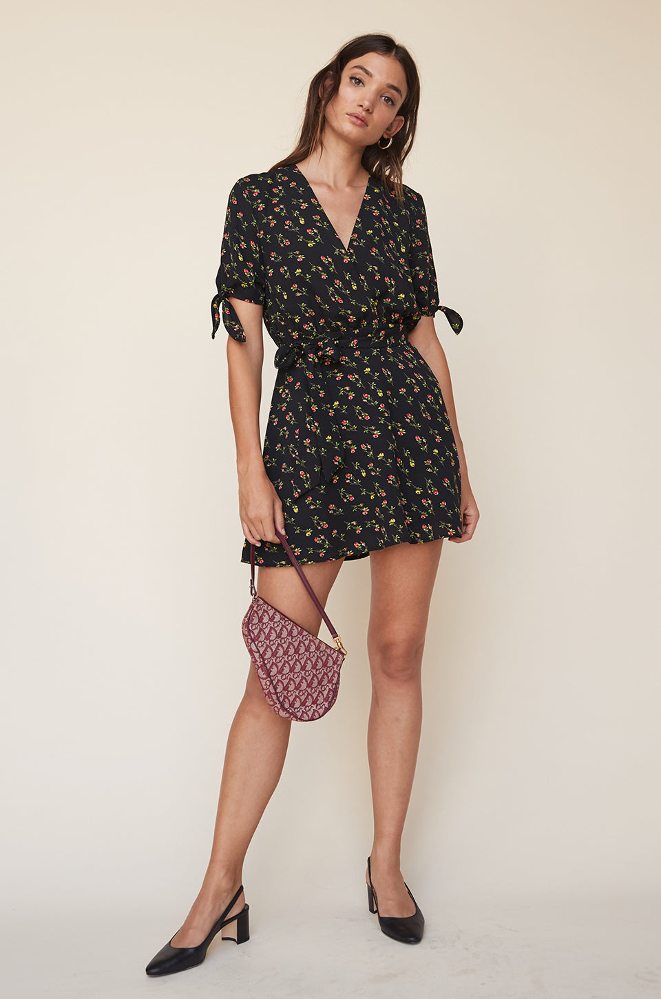 Mini Wrap Dress