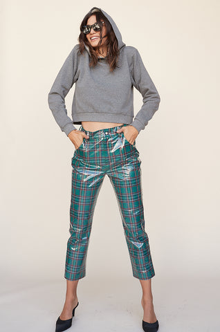 Corduroy High Waist Trouser