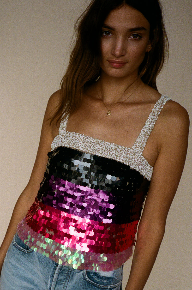 Payette Sequin Tank