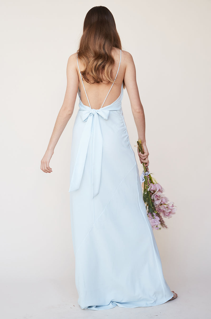 Tie Back Gown