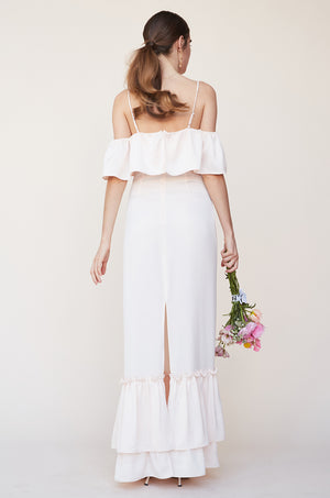 Tiered Ruffle Gown