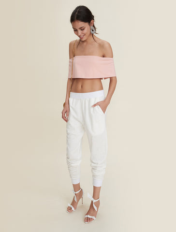 Twist Crop Sweater