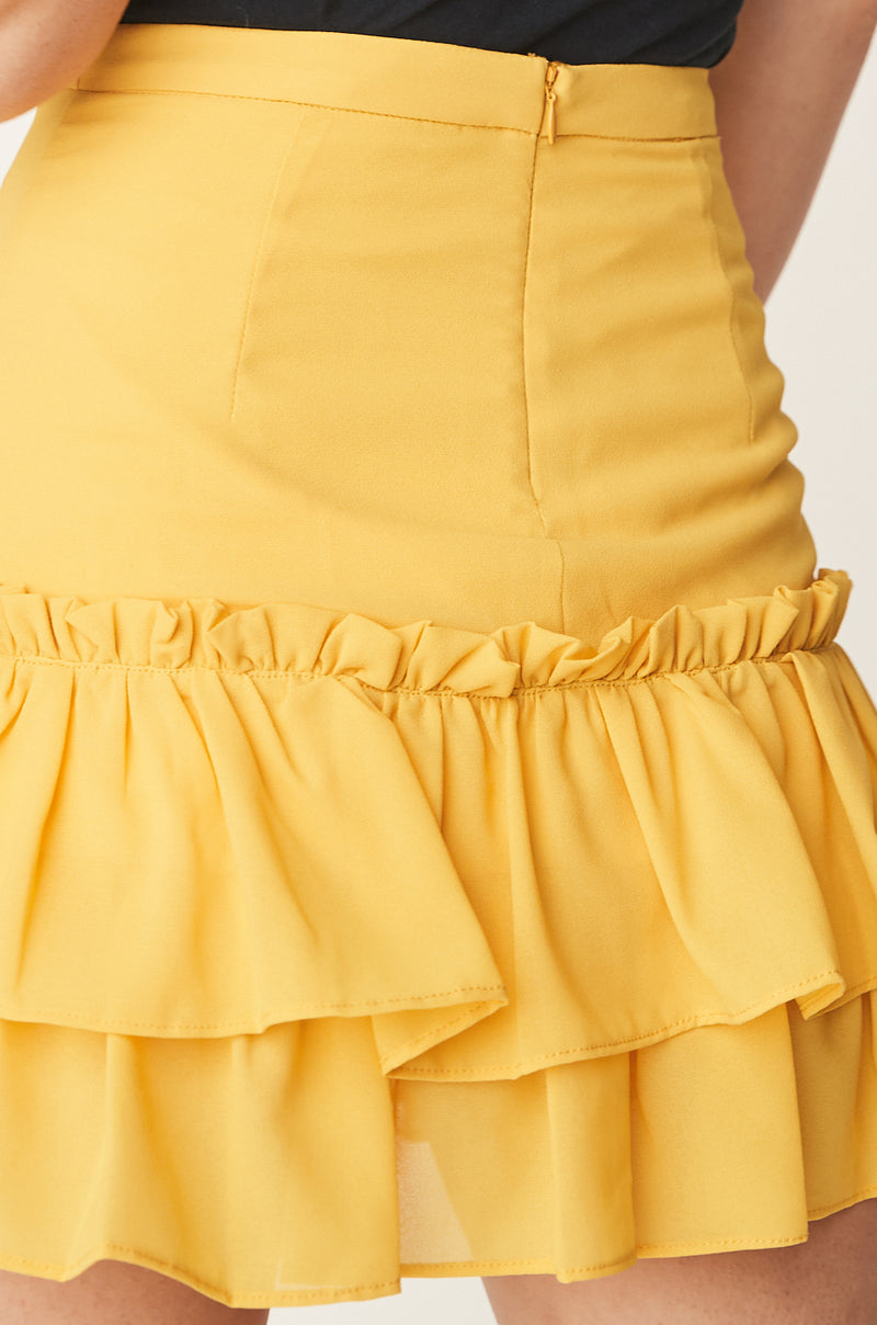 Two Tier Ruffle Skirt