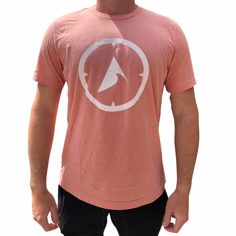 705 Compass Tee - Heather Sunset