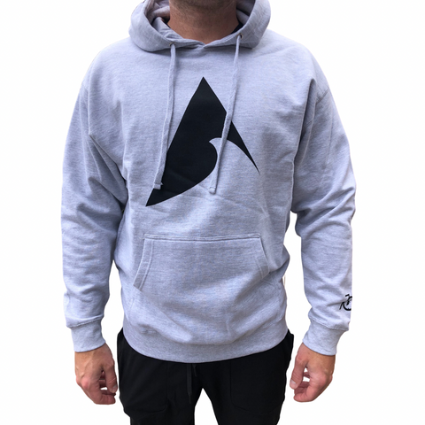 705 Logo Hoodie - Grey Heather