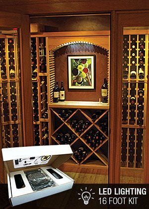 32' Wine Cellar LED Lighting Kit