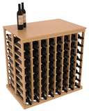 8 Col Double Deep Tasting Table With Solid Top