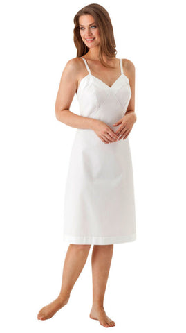 Adjustable Strap Cotton Full Slip