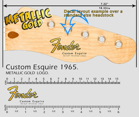 Custom Esquire 1965 GOLD
