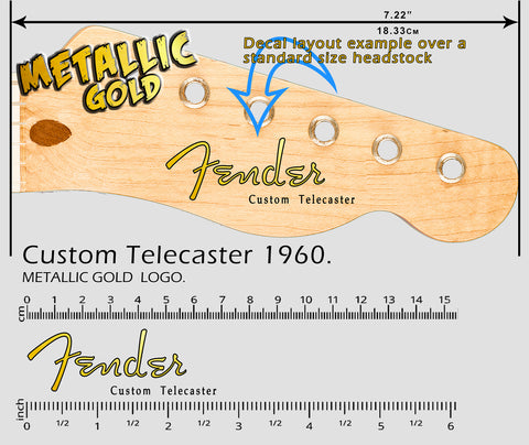 Custom Telecaster 1960 GOLD