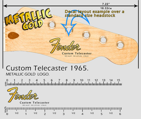 Custom Telecaster 1965 GOLD