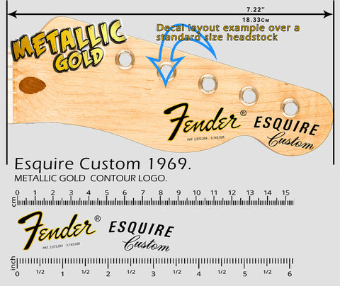 Esquire Custom 1969 GOLD