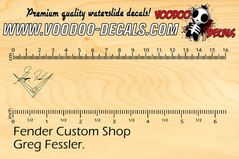 Fender Custom Shop Greg Fessler