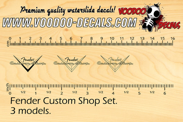 Fender Custom Shop SET (3 models set)