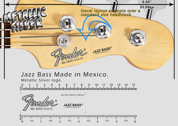 Jazz Bass Made in Mexico