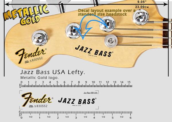Jazz Bass USA Lefty