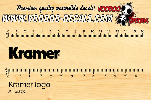 Kramer logo - ALL BLACK