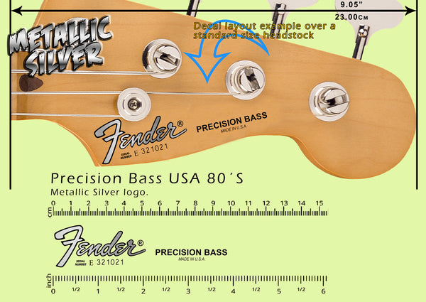 Precision Bass USA 80s SILVER