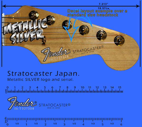 Stratocaster Japan SILVER