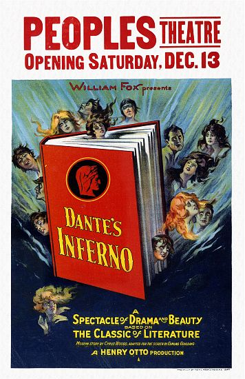 """Dante's Inferno"" - Henry Otto Movie Poster"