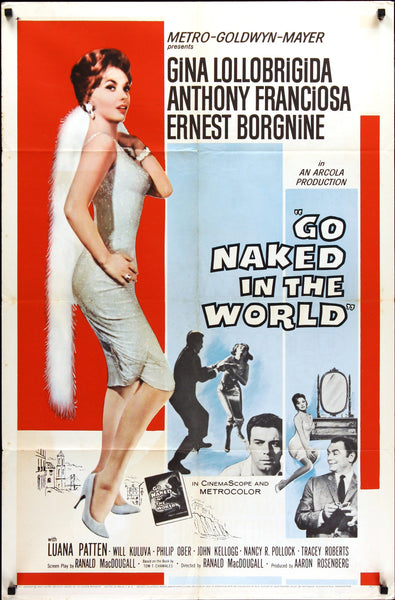 """Go Naked In The World"" - Movie Poster"