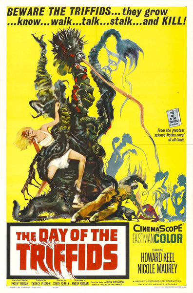 """The Day Of The Triffids"" - 1962 Movie Poster"