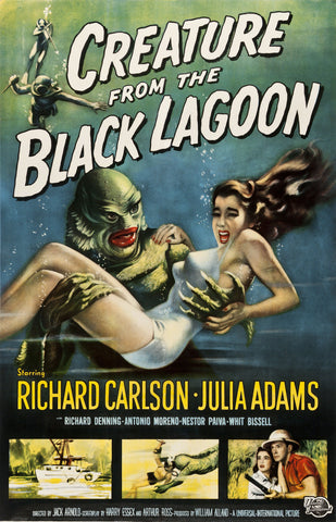 """Creature From The Black Lagoon"" - Movie Poster"