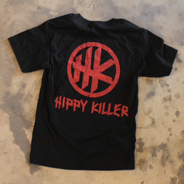 HK Icon Distressed - Black