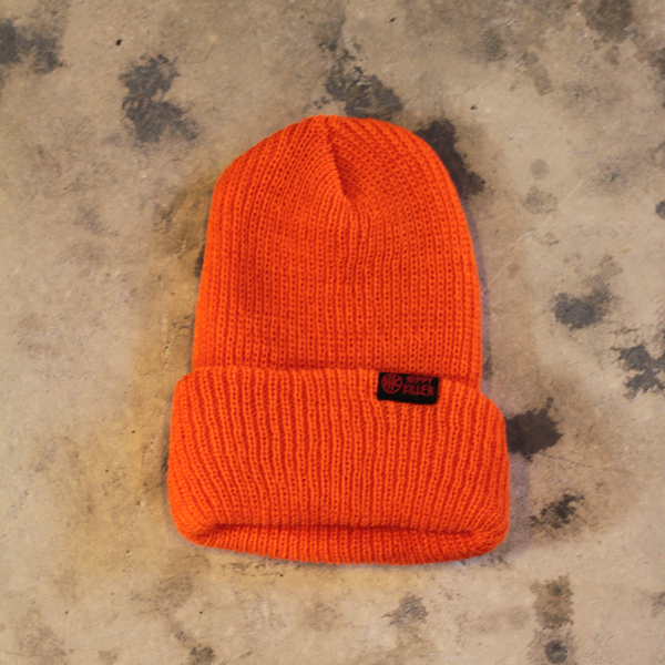 Hippy Killer Beanie | Orange
