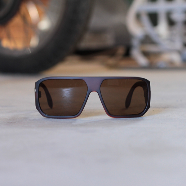 Filtrate x Hippy Killer Choc Sunglasses