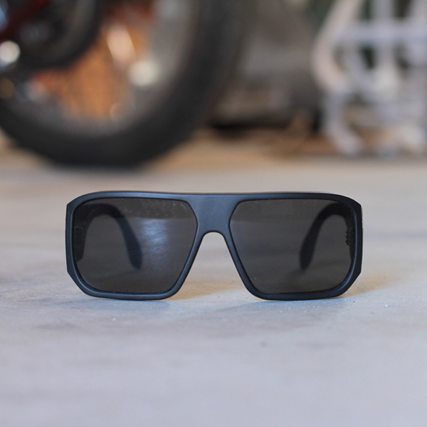 Filtrate x Hippy Killer Black Matte Sunglasses