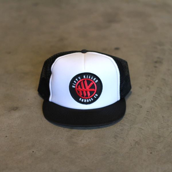 HK Circle Patch Trucker