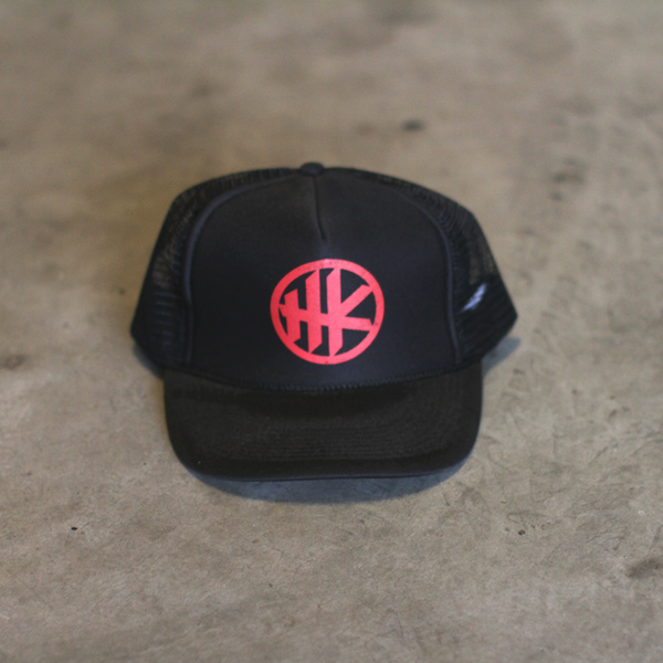 HK Icon Trucker – Black/Red