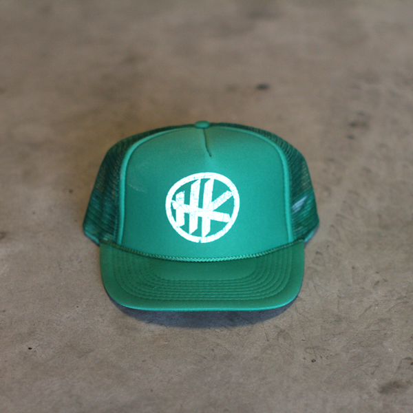HK Icon Trucker – Green