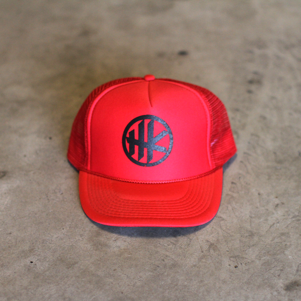 HK Icon Trucker – Red
